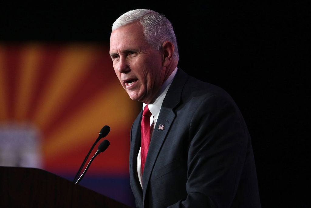 Vice President, Mike Pence. Photo from Wikimedia.